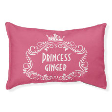 Princess Dog Name Personalized Pet Pillow Bed