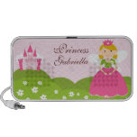 Princess Doodle Custom Speakers Personalized
