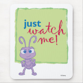 "Princess Dot says ""Just watch me"" Disney Mouse Pad"