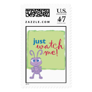 "Princess Dot says ""Just watch me"" Disney Postage"