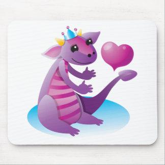 Princess Dragon Mouse Pad