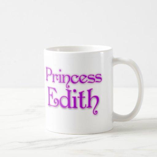 Princess Edith Coffee Mugs