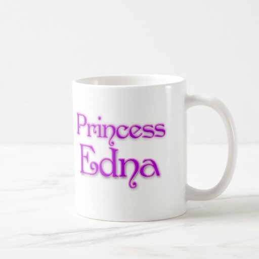 Princess Edna Classic White Coffee Mug