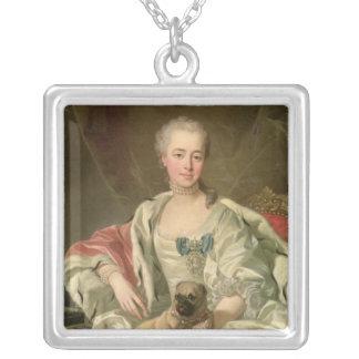 Princess Ekaterina Golitsyna  1759 Square Pendant Necklace