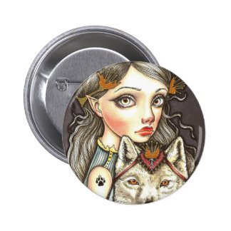 Princess Elaine and Thibault the Fearless Pinback Button