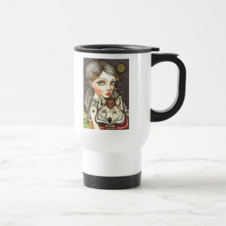 Princess Elaine and Thibault the Fearless Travel Mug