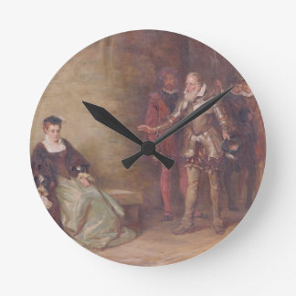 Princess Elizabeth (1533-1603) at the Tower (oil o Round Clocks