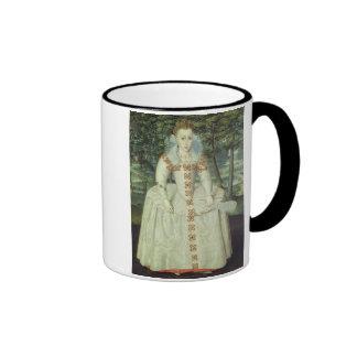Princess Elizabeth (1596-1662) 1603 (oil on canvas Ringer Coffee Mug