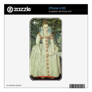 Princess Elizabeth (1596-1662) 1603 (oil on canvas iPhone 4S Skin