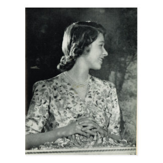 Princess Elizabeth at home Postcard