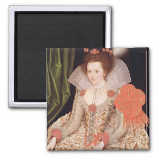 Princess Elizabeth, daughter of James I, 1612 Magnet