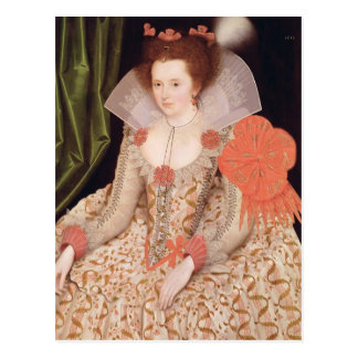 Princess Elizabeth, daughter of James I, 1612 Postcard