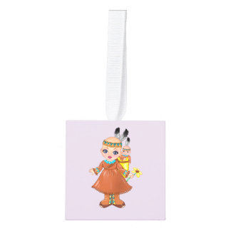 Princess Ella Characters from Who Are You? Cube Ornament