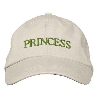 PRINCESS EMBROIDERED BASEBALL HAT