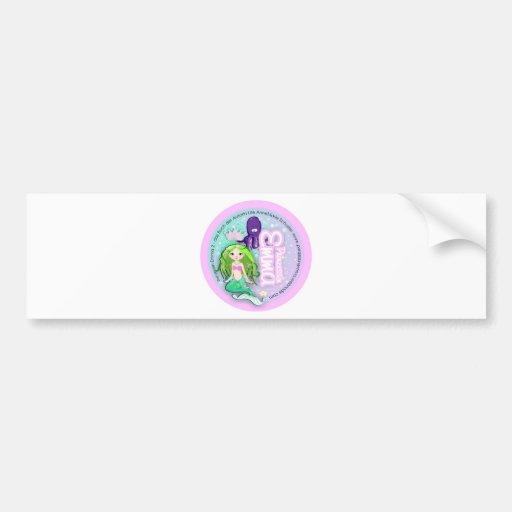 Princess Emma 2 approximately Car Bumper Sticker