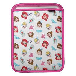 Princess Emoji Pattern Sleeve For iPads