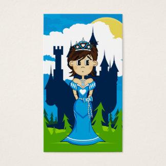 Princess & Enchanted Castle Bookmark Business Card