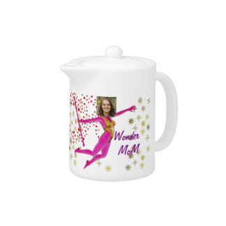 Princess Fairy Wand, Pink Fushia - with YOUR Pho Teapot