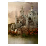 Princess Fantasy Castle Wedding Gifts Greeting Cards