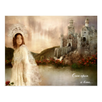 Princess Fantasy Castle Wedding Gifts Postcard