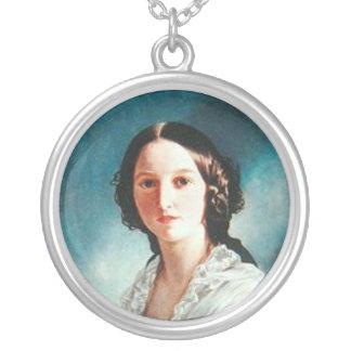 princess Feodora of Hohenlohe-Langenburg Round Pendant Necklace