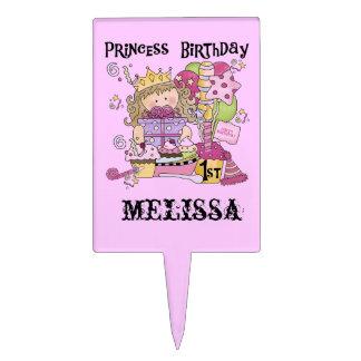 Princess First Birthday Cake Topper