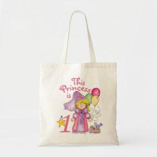 Princess First Birthday Tote Bag