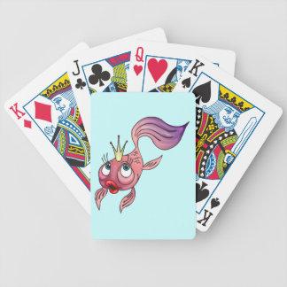Princess Fish Playing Cards