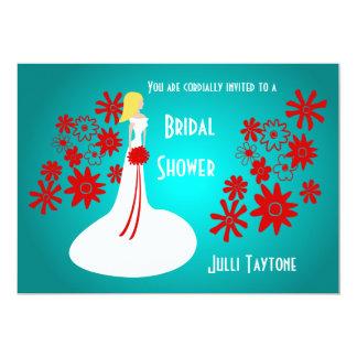 Princess & Flowers Bridal Shower Invitation 3