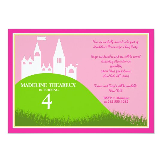 Princess for a Day Card