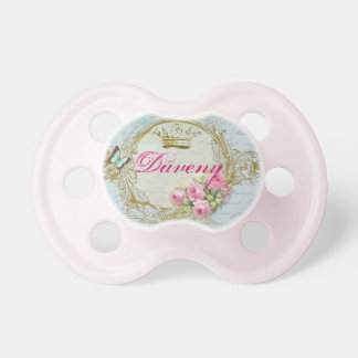 Princess French Inspired Pacifier