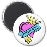 Princess Fridge Magnet