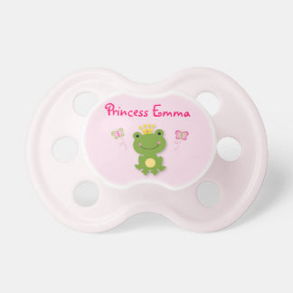 Princess Frog Fairy Tale Personalized Pacifier BooginHead Pacifier