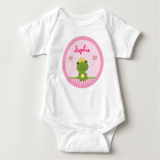 Princess Frog Personalized Baby T-Shirt