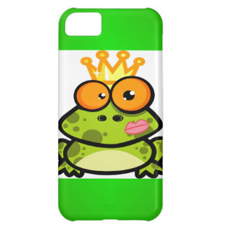 Princess Frog with Golden Crown Cover For iPhone 5C