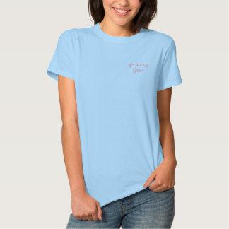 """Princess Gear"" Embroidered Shirt"