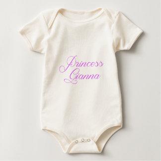 Princess Gianna Baby Bodysuit