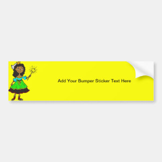 Princess Girl Bumper Sticker