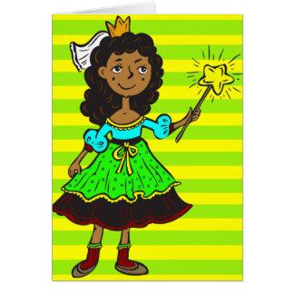Princess Girl Card