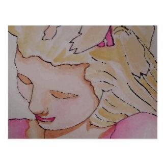 Princess Girl CricketDiane Art Design Post Card