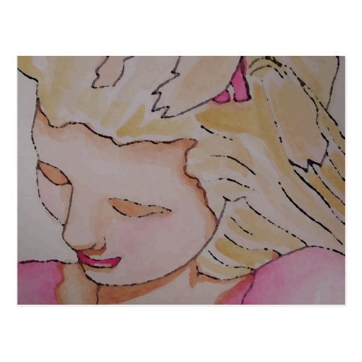 """Princess Girl""  CricketDiane Art & Design Post Card"