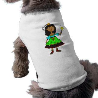 Princess Girl Doggie Tee Shirt