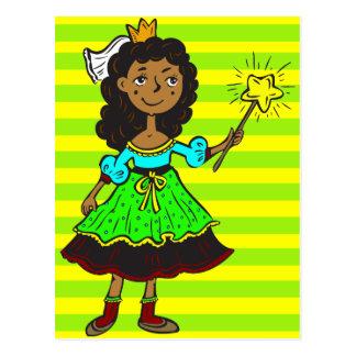 Princess Girl Postcard