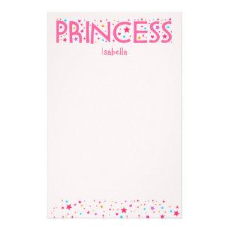 Princess Girl stationery