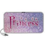 Princess Glitter Travel Speaker