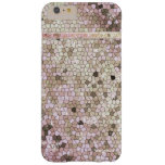 Princess Goddess White Opal Glitter Diamond Bling Barely There iPhone 6 Plus Case