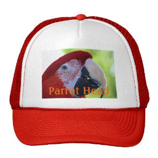 Princess Green Wing Macaw Trucker Hat