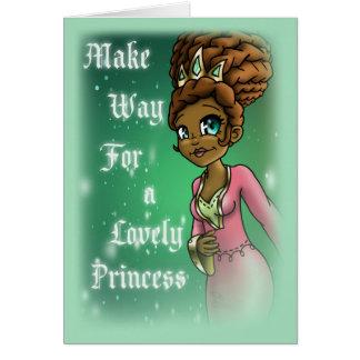 """""""Princess Hadassah Birthday Cards"""" Card"""