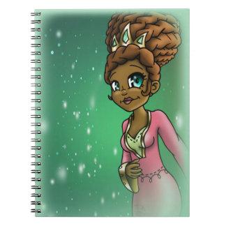 """Princess Hadassah"" Spiral Notebook"