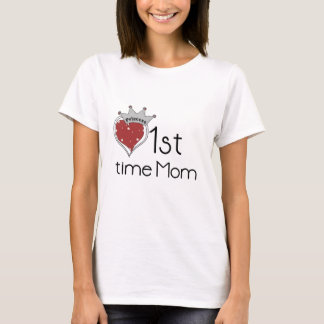 Princess Heart 1st Time Mom Tshirts and Gifts